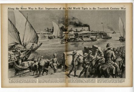 1916 World War WW1 Magazine SUBMARINE CAPTURE Salonika ITALIAN ALPINI (5800)